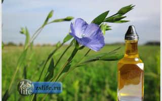 Как льняное масло действует на организм человека?
