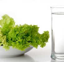 Диета воду пить перед едой