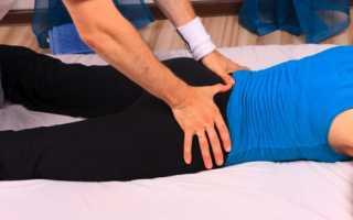 Массаж тазобедренного сустава при остеоартрозе