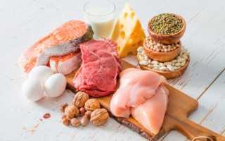 В молочных продуктах сколько белка