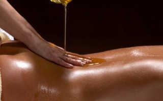 Общий массаж женского тела
