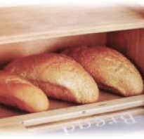 Уборка шкафов для хранения хлеба