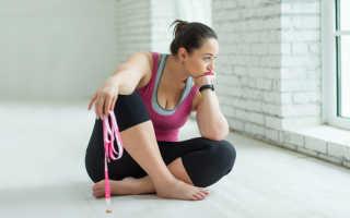 Похудение с помощью спорта и правильного питания