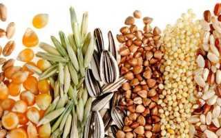 Какие виды зерна используют для приготовления круп?