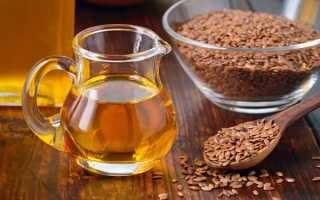 Употребление льняного масла для похудения