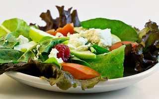 Продукты с наименьшим количеством калорий