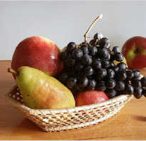 Через сколько можно есть фрукты после рыбы