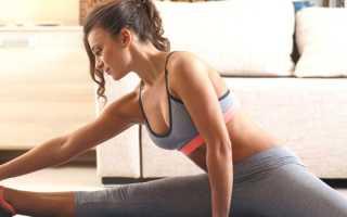 Упражнения для похудения живота на ночь