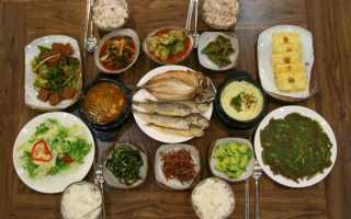 Японская диета на месяц меню
