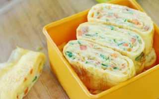Как приготовить корейские яичные роллы?