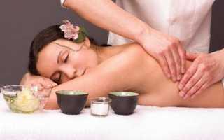 Классический расслабляющий массаж всего тела