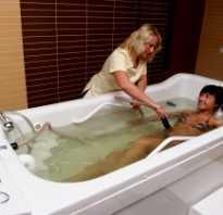 Водный массаж для похудения в домашних условиях