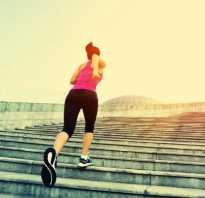 Сколько сжигает калорий бег по лестнице