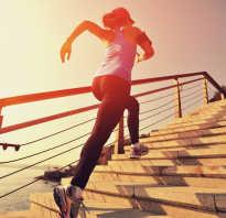 Бег по лестнице сколько сжигает калорий