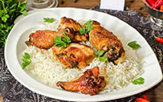 Трехдневная диета рис курица