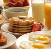 Как называется поздний завтрак?