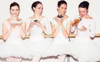 Диета балетная