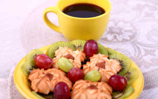 С чем низкокалорийным можно пить чай