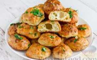 Гужеры французские заварные булочки пошаговый рецепт
