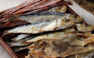 Есть ли польза от сушеной рыбы