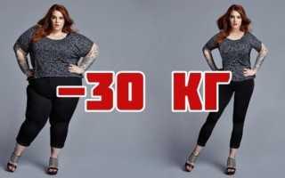 Как похудеть за 3 дня на 30 кг в домашних условиях?