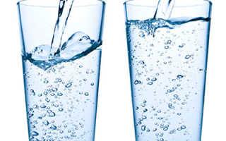 Два стакана воды перед едой диета