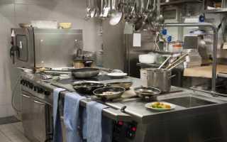 Современные виды оборудования для предприятий питания