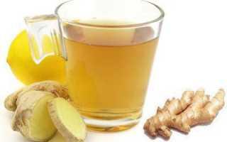 Имбирный напиток на ночь для похудения