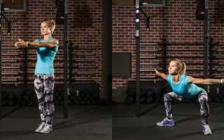Спортивные движения для похудения