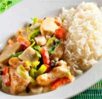 9 дневная диета рис курица овощи
