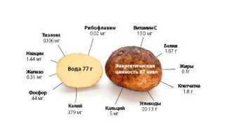 Диета 5 картофелин кефир