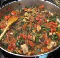 Перечислите овощи используемые для припускания