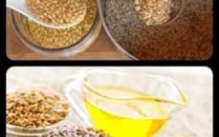 Есть ли противопоказания у льняного масла