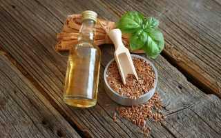 Можно ли пить льняное масло после еды?