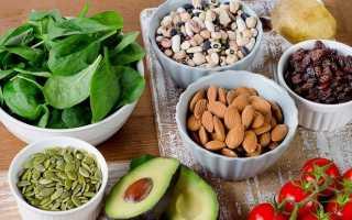 Источники растительного белка таблица