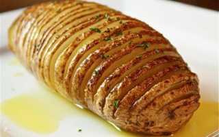 При какой температуре печь картошку в мундире в духовке