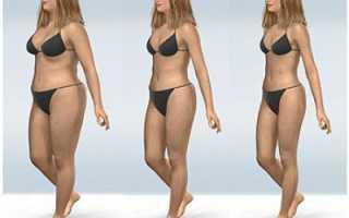 Как за месяц похудеть заметно?