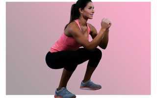 Комплекс упражнений для ног бедер и ягодиц