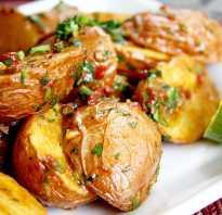 Как приготовить вкусно картошку в духовке в мундире?