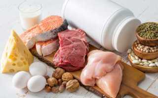 Где содержатся белки в продуктах питания